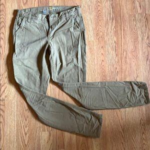 Carhartt slim fit kaki pants